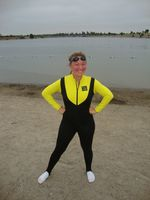 Wetsuit and socks