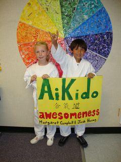 Aikido awesomeness poster